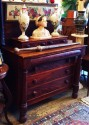Beautiful Mahogany desser or Silver buffet